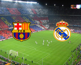 Clasicos entre Barcelona y Real Madrid