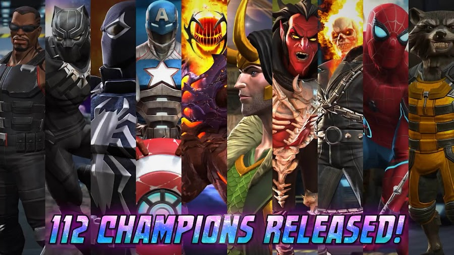 marvel contest of champions characters