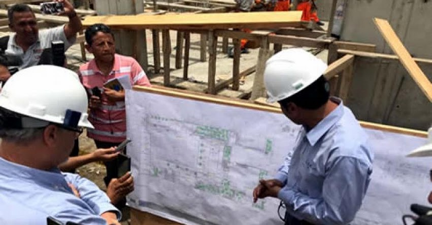 MINEDU: Avanza construcción del primer colegio financiado con Obras por Impuestos en el país - www.minedu.gob.pe