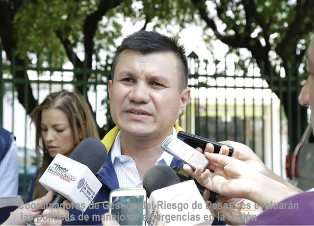 En Cúcuta-NdeS, Coordinadores de Gestión del Riesgo de Desastres se reúnen para evaluar su trabajo en 40 municipios #RSY #OngCF