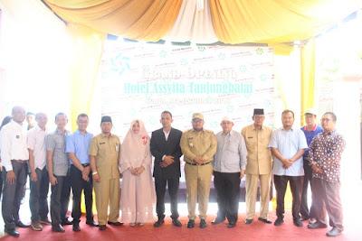 Kemenag Tanjungbalai Hadiri Grand Opening Hotel Asyifa