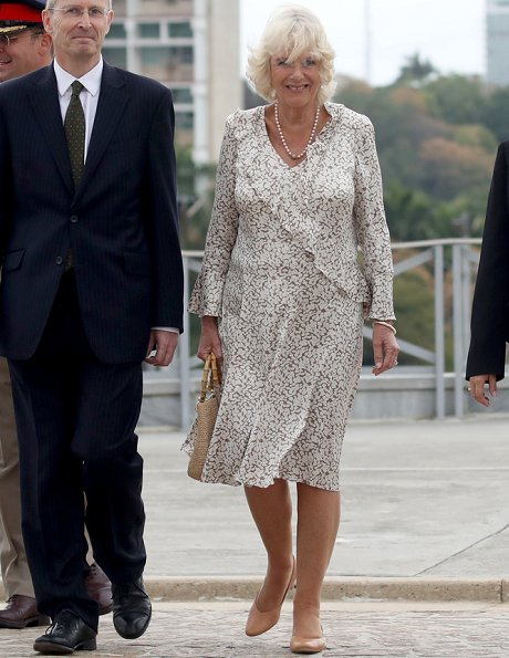 The Prince of Wales and the Duchess of Cornwall arrived at José Martí Airport in Havana. José Martí exhibition