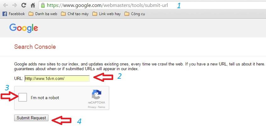 Cách để Google index bài viết của bạn nhanh nhất và đơn giản nhất