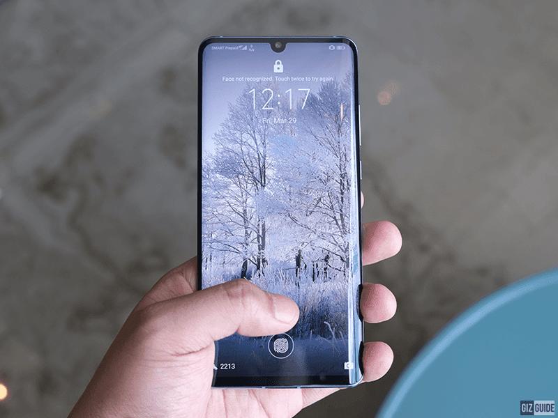Improved In-Display fingerprint scanner