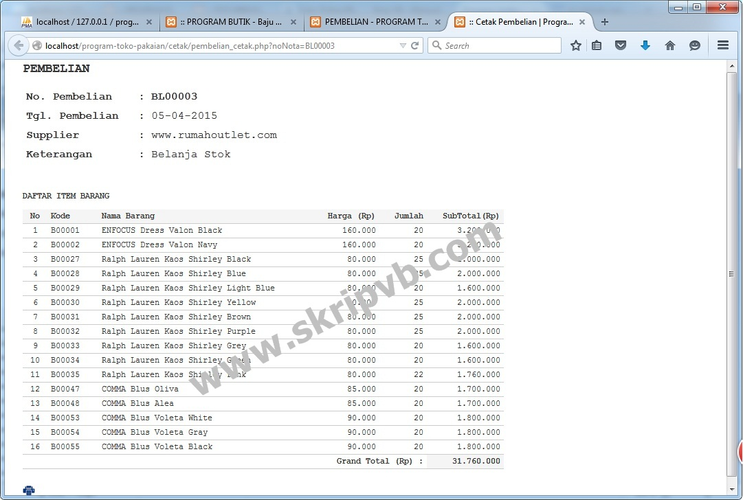 Sistem Informasi Bengkel Motor dan Penjualan Sparepart 6e6400e8ff