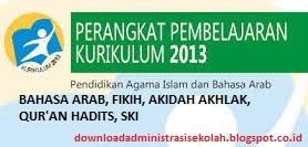 RPP Fiqih Mi Kurikulum 2013 Kelas 1, 2, 3, 4, 5, 6