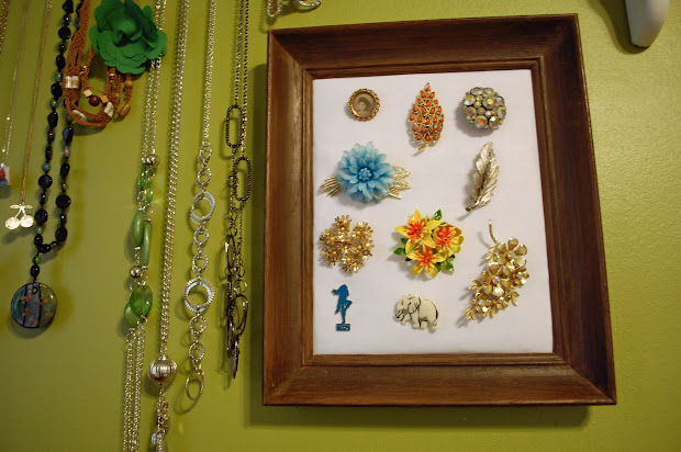 DIY Jewelry Display with Poster Boards