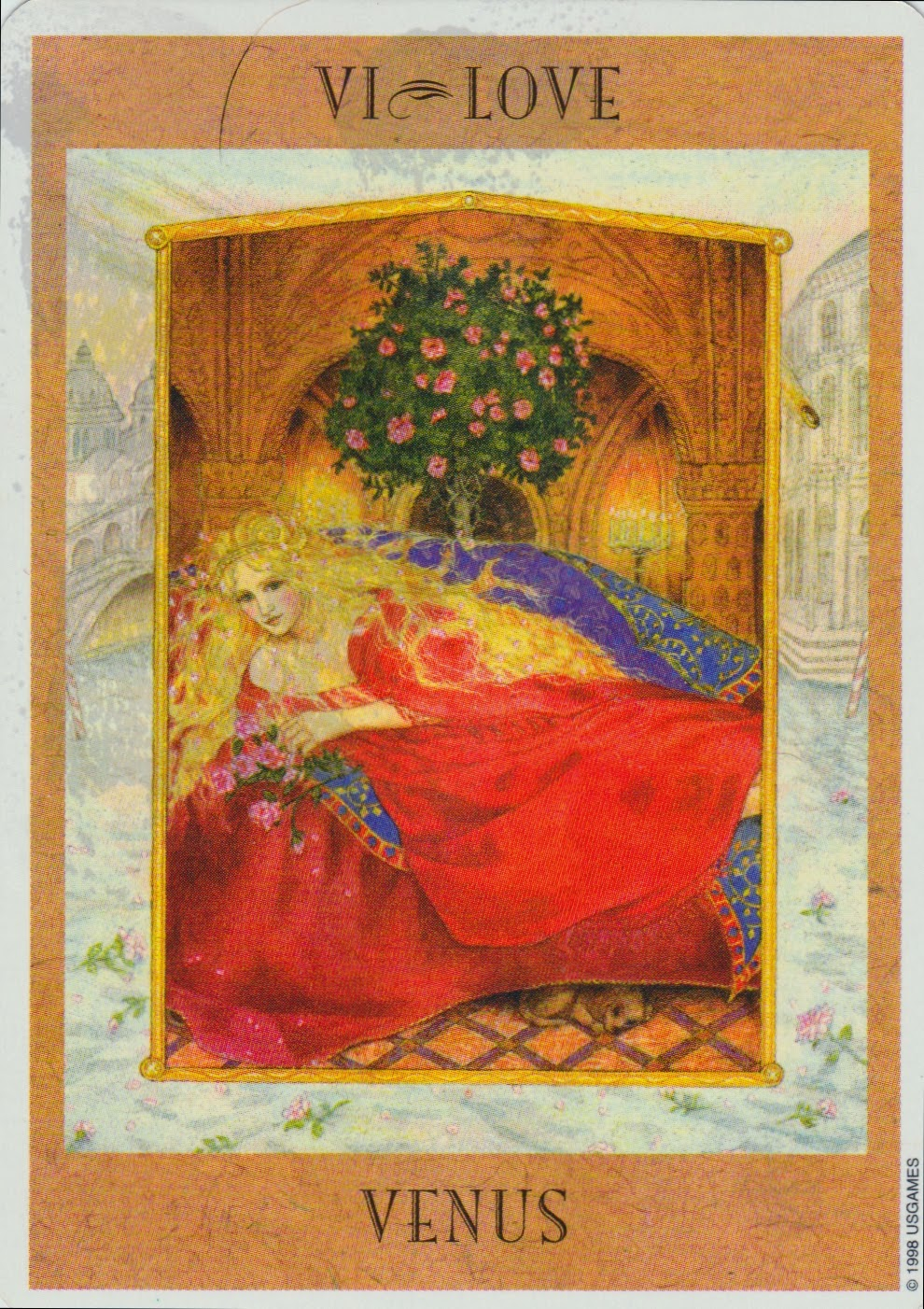 Lady Oracle Tarot: Venus In Cancer, July 18, 2014