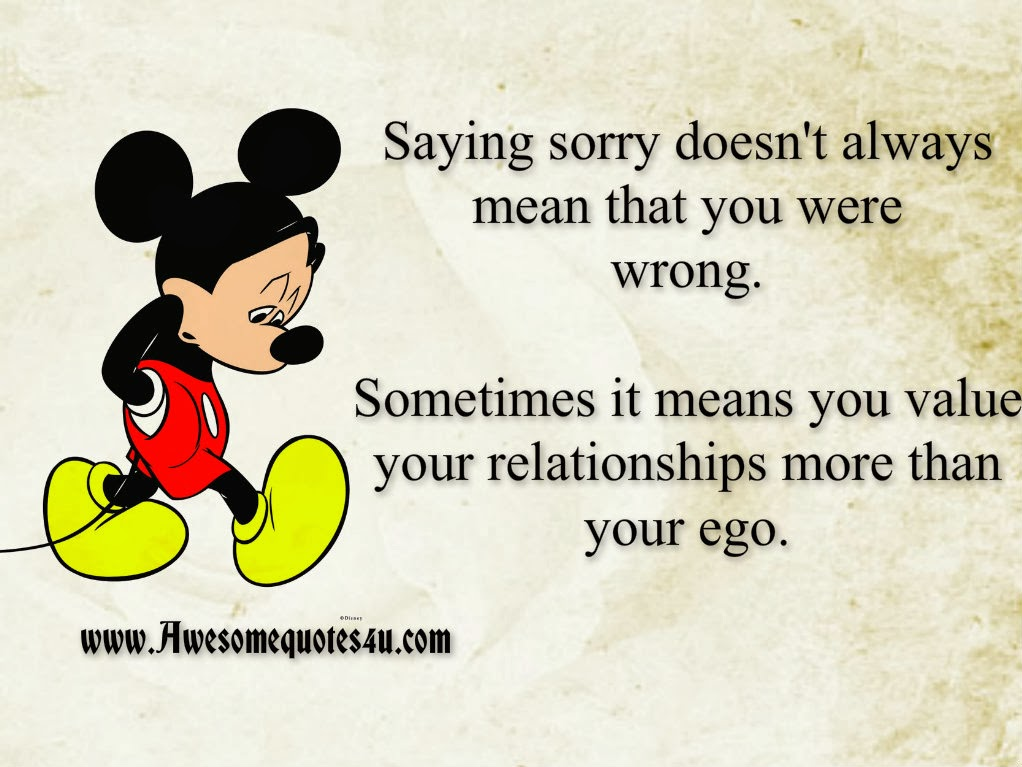 Saying Sorry To A Friend Quotes. QuotesGram