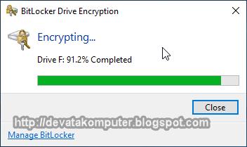Cara, Mengaktifkan, BitLocker, Windows 10