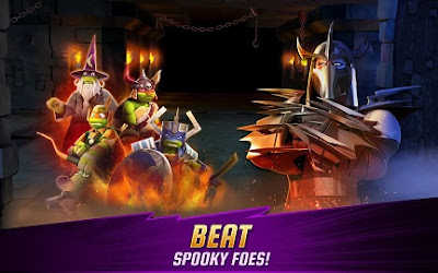 Download Game Ninja Turtles Legends MOD APK v1.6.16 (Unlimited Money Currency Gems)
