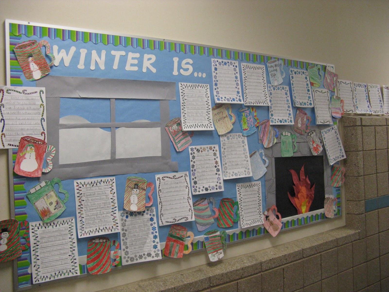 December Bulletin Board Ideas Third Grade