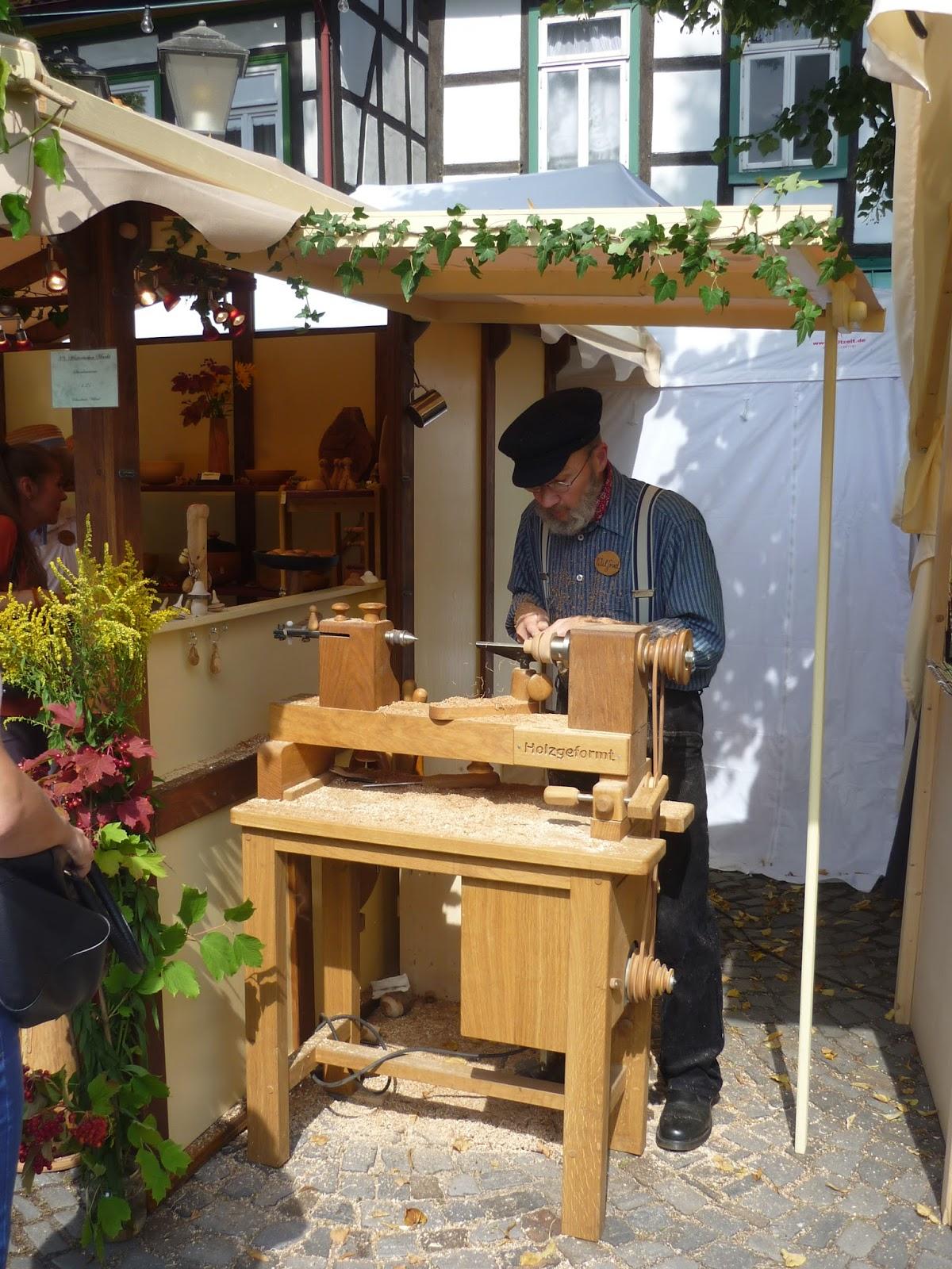 Handarbeiten: Historischer Markt in Bad Essen 2013
