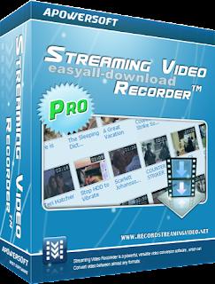 Apowersoft Streaming Video Recorder 6.0.6 Build 10.23.2016 [Full Keygen] โปรแกรมบันทึกวีดีโอในเว็บทีวีออนไลน์ ได้ง่ายๆ