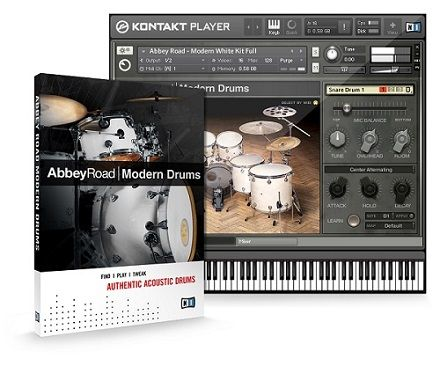 Abbey Road Modern Drums Baterías Contemporáneas VST