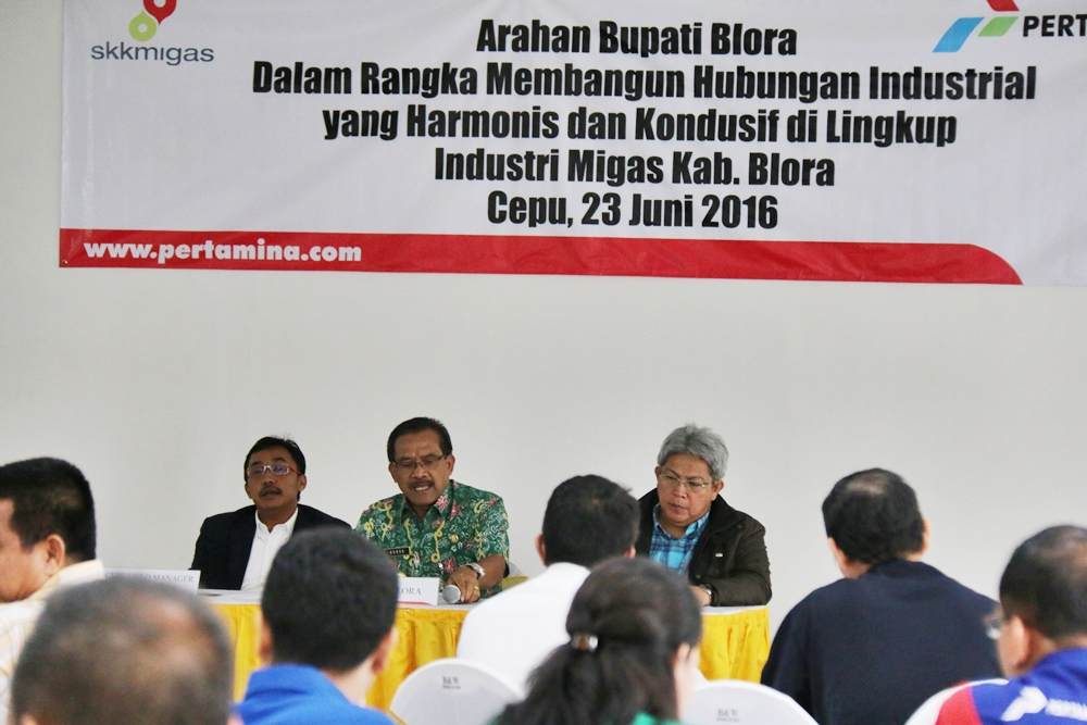 Bupati Blora Mediasi Masalah PT.Geo Cepu Indonesia yang ...