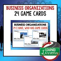 Business Organizations, Free Enterprise, Economics, Free Enterprise Lesson, Economics Lesson, Free Enterprise Games, Economics Games, Free Enterprise Test Prep, Economics Test Prep
