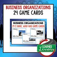 Business Organizations, Free Enterprise, Economics, Free Enterprise Lesson, Economics Lesson, Free Enterprise Games, Economics Games, Free Enterprise Test Prep, Economics Test Prep
