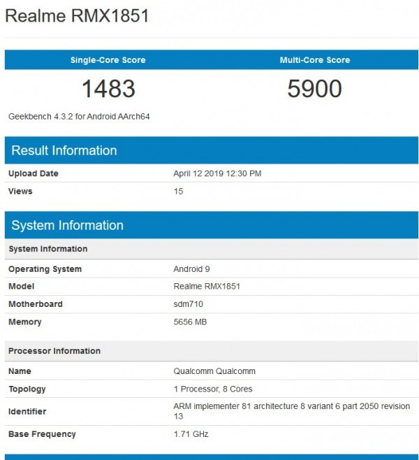 Realme 3 pro Key Specifications Leaked – Redmi Note 7 Pro Killer