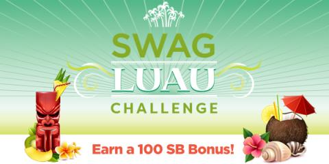 Image: Put on your lei, enjoy some Slack-key guitar, and get ready to eat some Kalua Pork, because Swagbucks is holding a Luau Team Challenge to help you earn free gift cards!