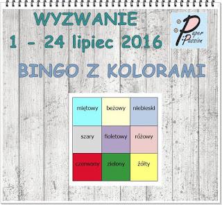 Wyzwanie w Paper Passion.pl do 24-07-2016