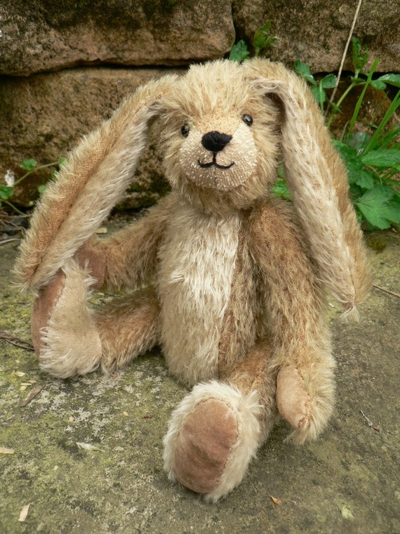 handmade teddy bears and raggedies unique handmade teddy bear rabbit