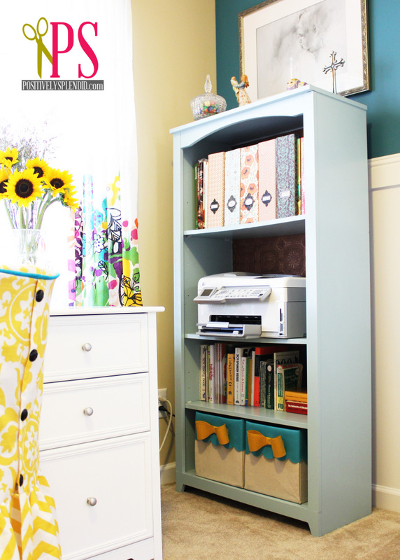 Sewing Room Home Office Reveal Positively Splendid