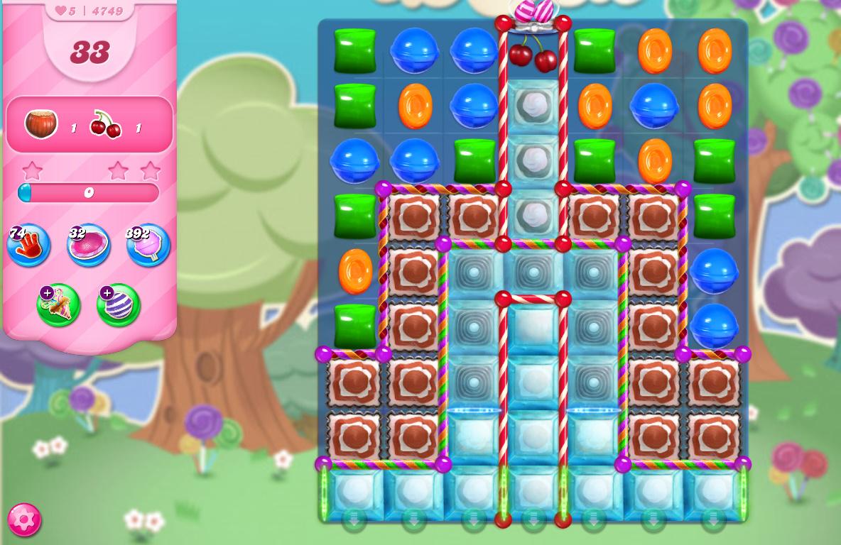 Candy Crush Saga level 4749