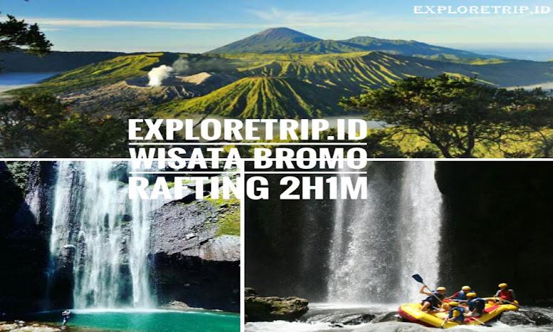 Amazing Trip Bromo Madakaripura dan Arung Jeram