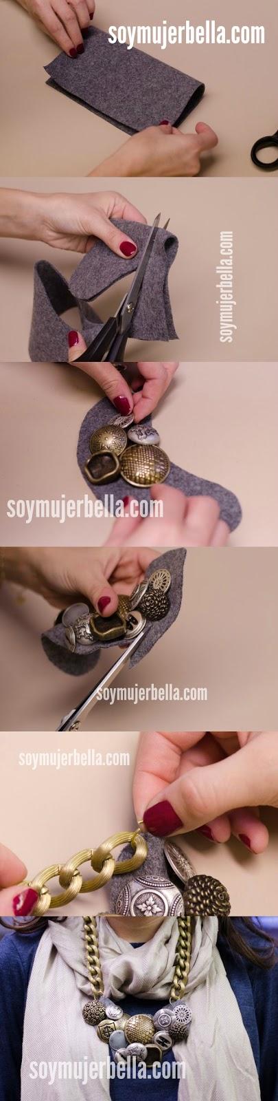 Cómo fabricar un collar fácil y rápido