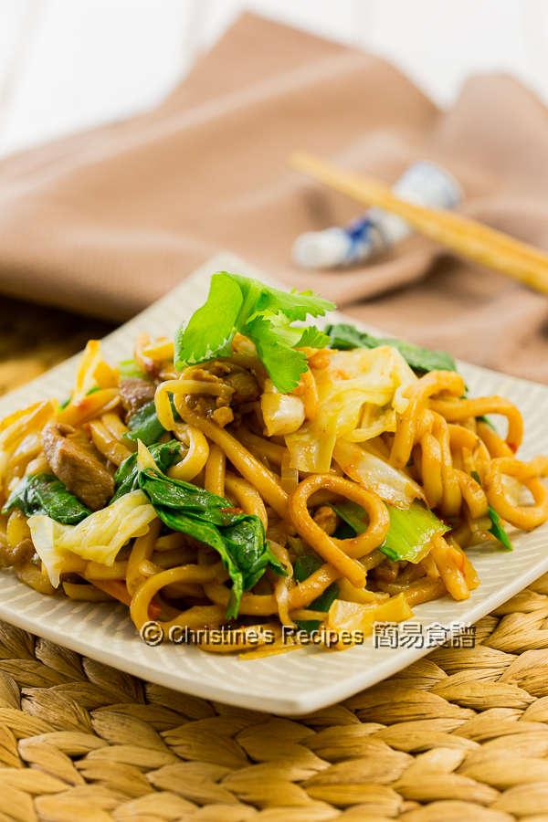 肉絲炒拉麵 Spicy Pork Ramen Noodle Stir-Fry04