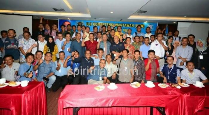 PWI PUSAT : Riau pecahkan Rekor Peserta UKW Terbanyak