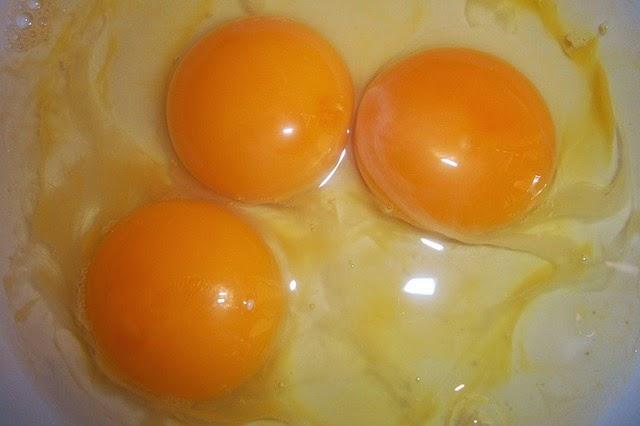 yema de huevo de la abuela