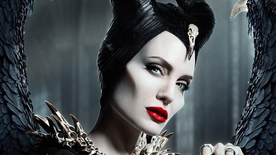 Maleficent Mistress Of Evil Angelina Jolie Movie Poster 4k