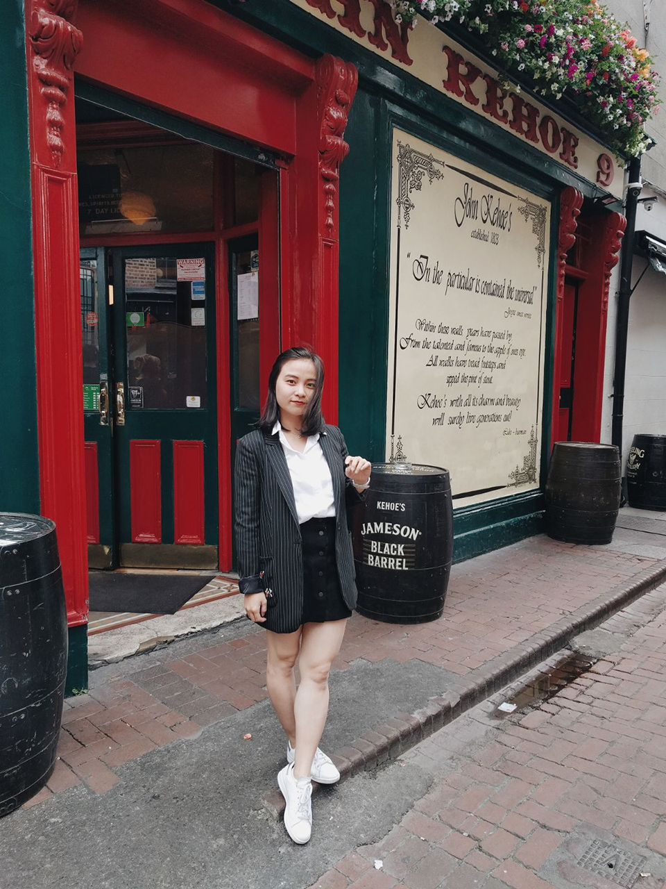 Outfit weekend in the city centre