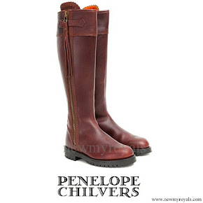 Kate Middleton wore Penelope Chilvers long tassel boots