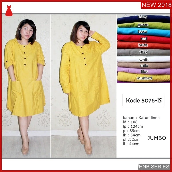 HNB153 Model Felin Dress Tali Ukuran Besar Jumbo BMG Shop