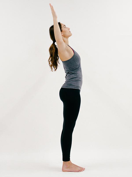 Mini Back-bend (YOGA)