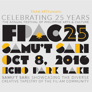 FPAC 25, the 25th Annual Festival of Philippine Arts and Culture (FPAC), will take place Saturday, October 8 at the beautiful Echo Park Lake. Admission is FREE.