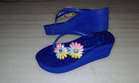 Produsen Sandal Spon Wedges Tasikmalaya