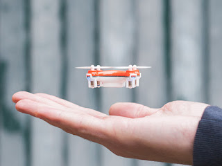 The World's Smallest Precision-Controlled Quadcopter
