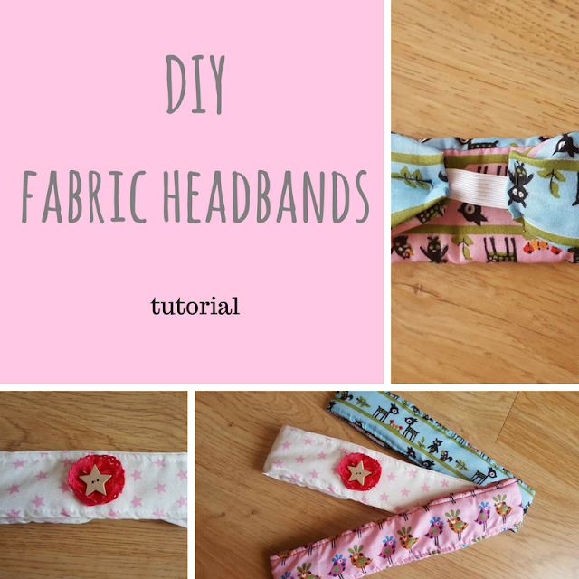 DIY Fabric headbands tutorial