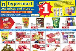 Katalog Promo Hypermart Weekday 24 - 27 September 2018