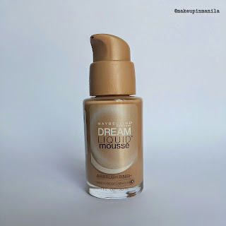 Maybelline Dream Liquid Mousse Review in Sandy Beige