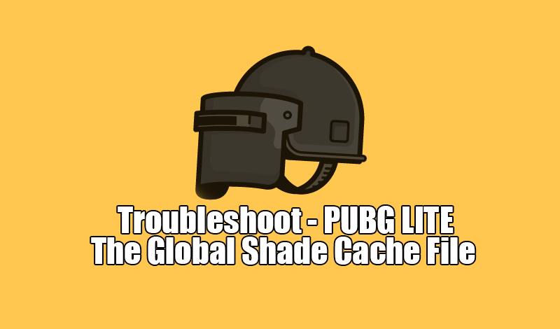 PUBG Lite Troubleshoot