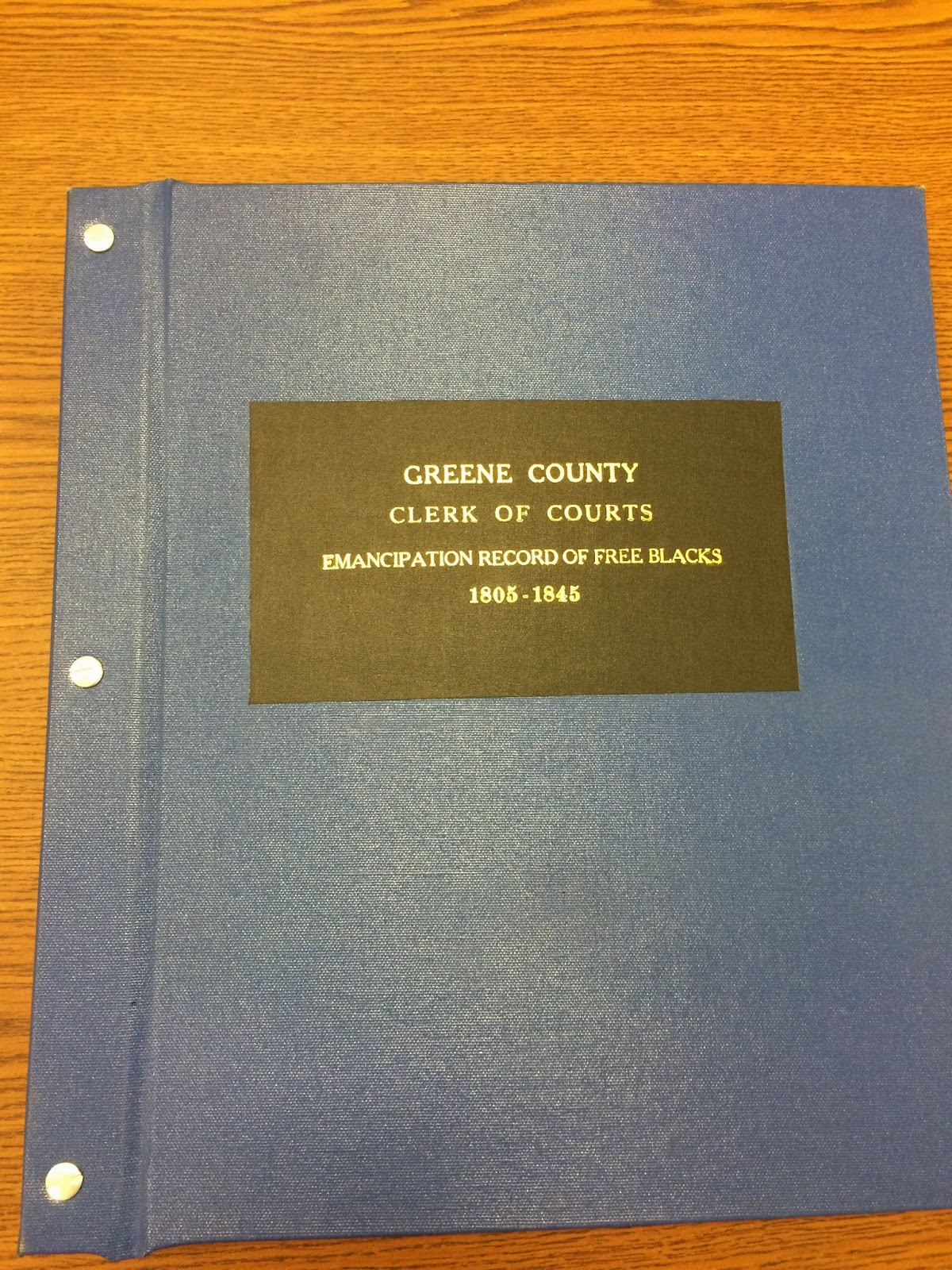 The Overachieving Archivist: Greene County Records Center and