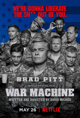 War Machine 2017 Dual Audio WEBRip 480p 200mb ESub HEVC x265