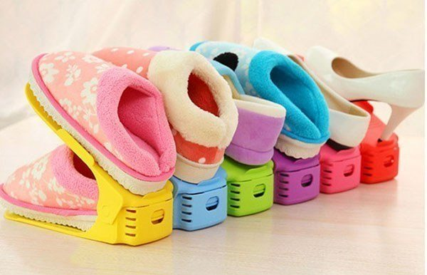 11k - Kệ để giày dép siêu gọn đẹp nhiều màu giá sỉ và lẻ rẻ nhất