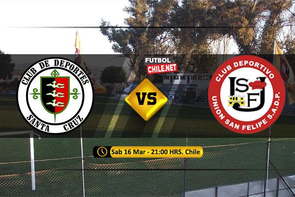 PREVIA: Deportes Santa Cruz vs Unión San Felipe
