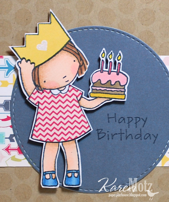 Pure Innocence Birthday Princess Was A Perfect Choice And I Paper Pieced Her Dress Crown With Patterns From The Fancy Pants Wonderful Day Collection